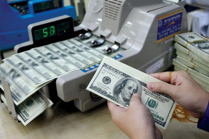 Đổi tiền ở sân bay