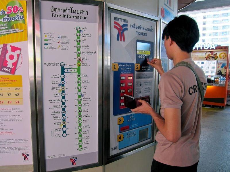 Mua vé ngày xe bus hoặc tàu điện