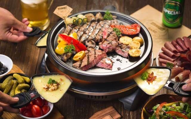 Thăn ngoại bò Úc sốt kem - GRILLE6 Steakhouse