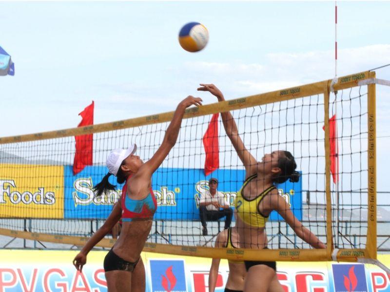 Giải bóng chuyền bãi biển tỉnh Khánh Hoà
