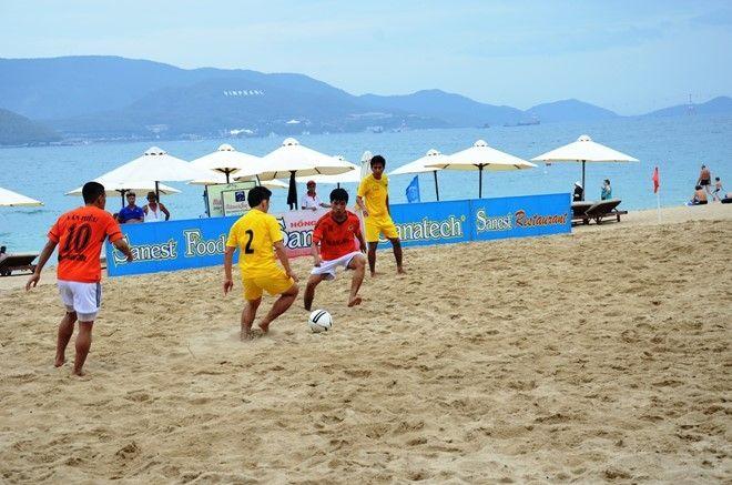 Giải bóng đá bãi biển tỉnh Khánh Hoà (hoạt động trước khai mạc)