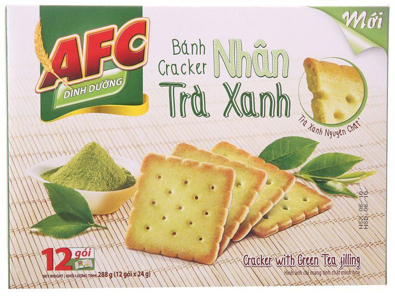 Bánh AFC nhân trà xanh