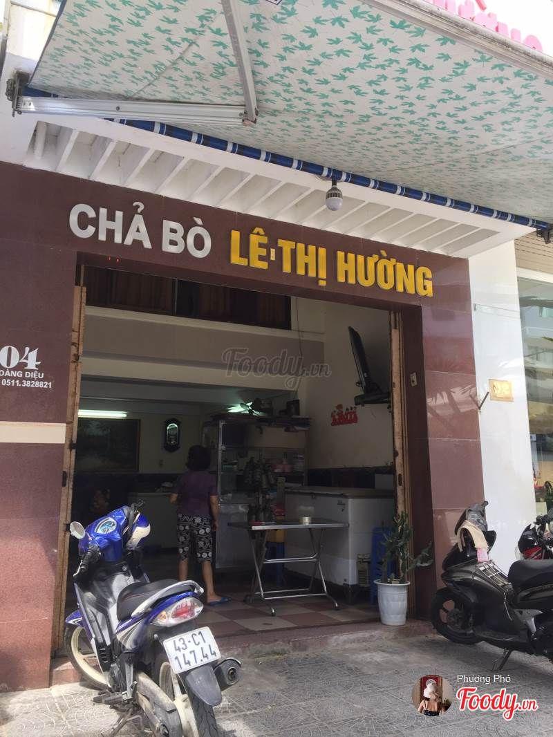Cửa hàng chả bò Lê Thị Hường