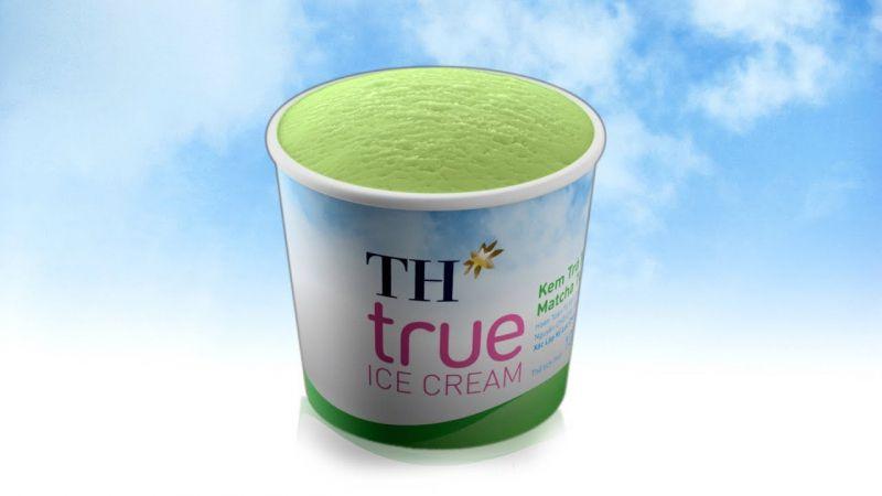Kem Hộp TH true ICE CREAM Trà Xanh MatchaTự Nhiên