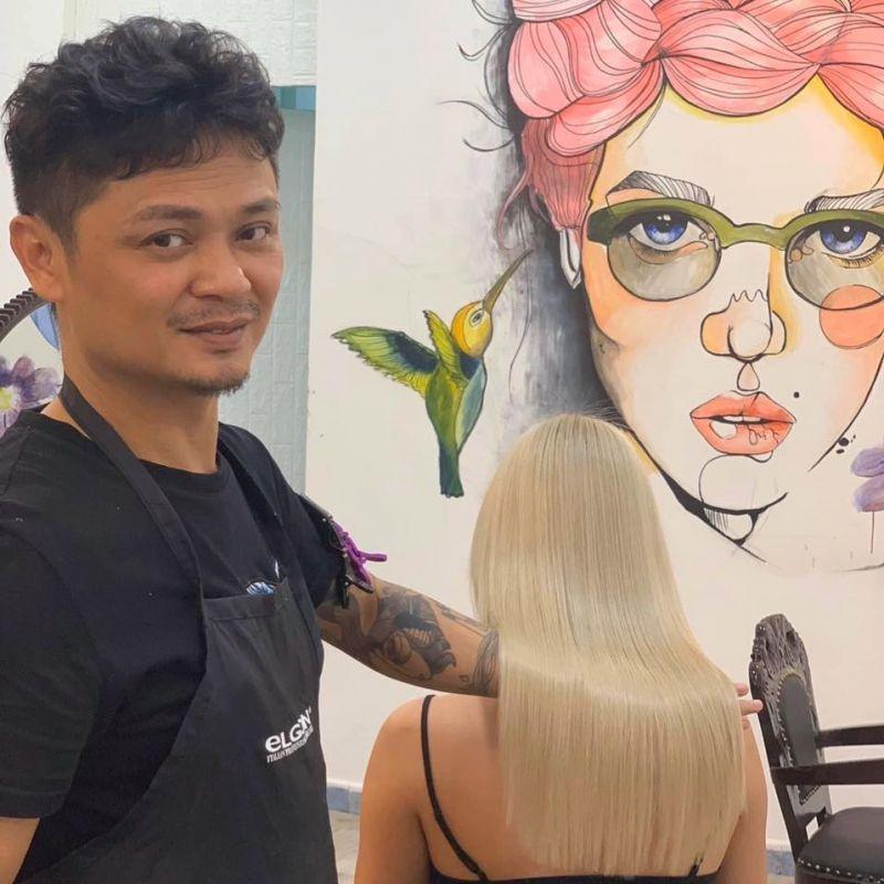 Nhà tạo mẫu tóc Ivan Trịnh