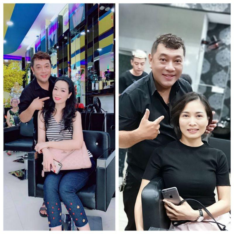 Nhà tạo mẫu tóc Tuấn Hà Lan