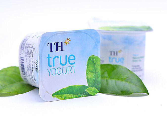 Sữa chua trà xanh matcha tự nhiên TH true yogurt