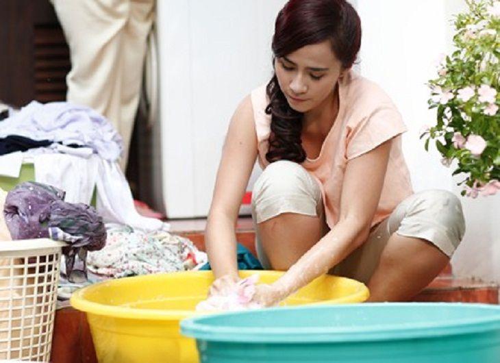 Tắm rửa, giặt giũ