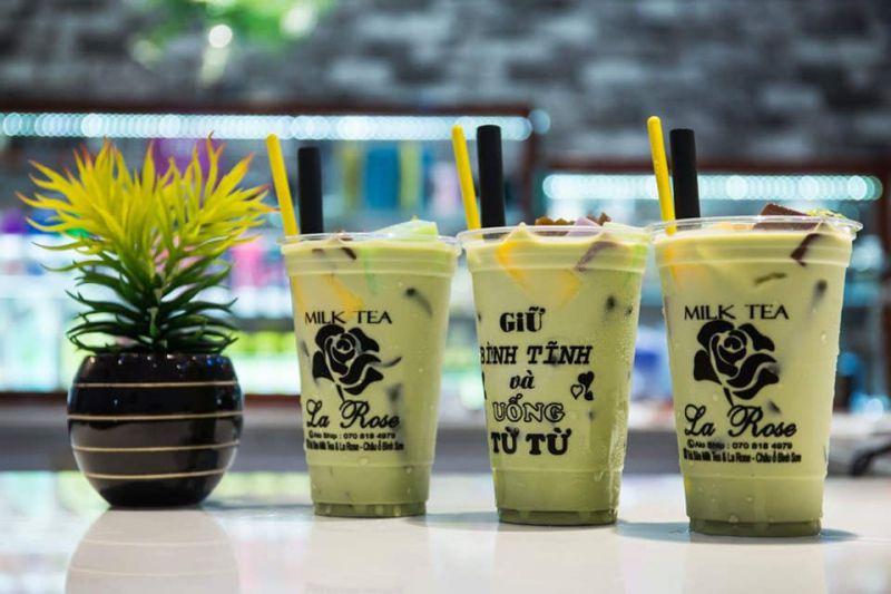 Trà Sữa Milk Tea & La Rose - Châu ổ Bình Sơn