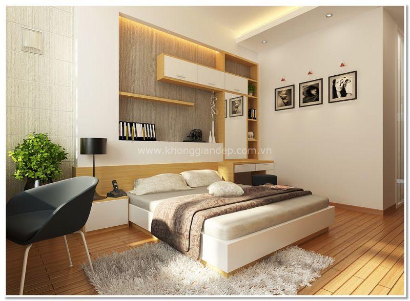 Trang trí phòng tân hôn với nội thất thiết kế