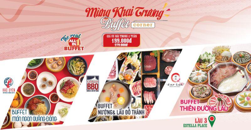 Buffet Corner - Estella Place