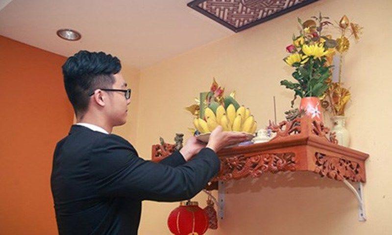 Cách lau dọn bàn thờ và bát hương