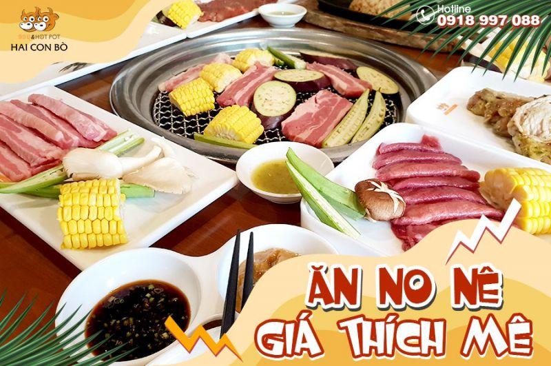 Hai Con Bò BBQ - Buffet Nướng & Lẩu - Nguyễn Duy Trinh