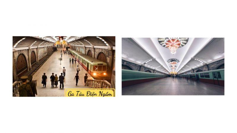 Hệ thống tàu điện ngầm Bình Nhưỡng