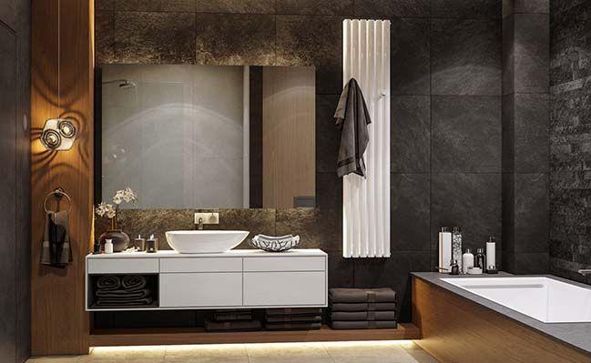 Mẫu thiết kế nhà tắm đẹp, hiện đại