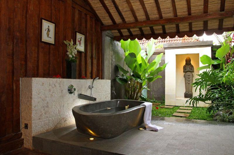 Mẫu thiết kế nhà tắm với phong cách thông thoáng