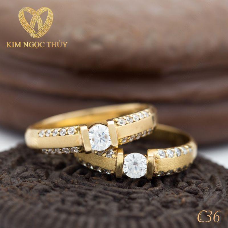 Nhẫn cưới Kim Ngọc Thủy