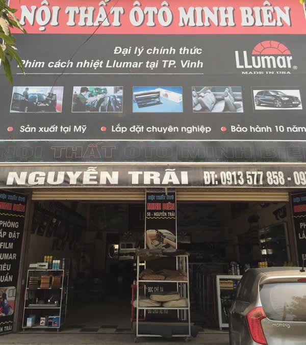 Nội thất ô tô Minh Biên