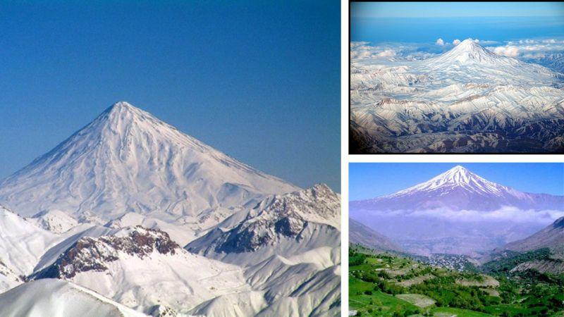 Núi Damavand, Iran