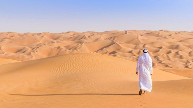 Sa mạc Rub' al Khali, bán đảo Ả Rập