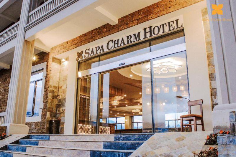 Sapa Charm Hotel (chỉ từ 896000 đồng – 1232000 đồng/đêm)