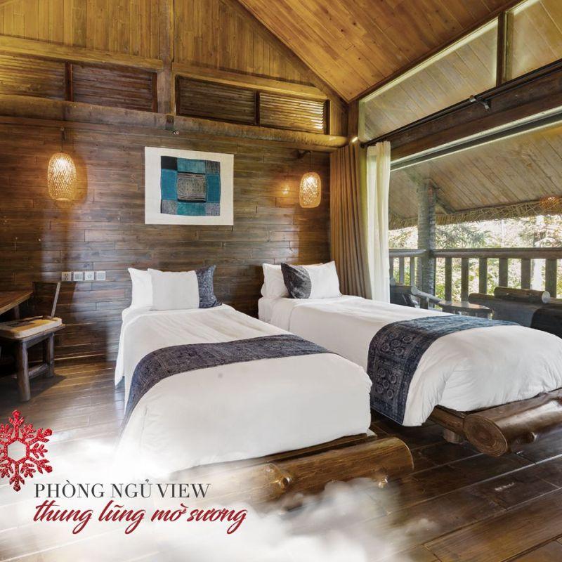 Sapa Jade Hill Resort & Spa (2585000 đồng/đêm)