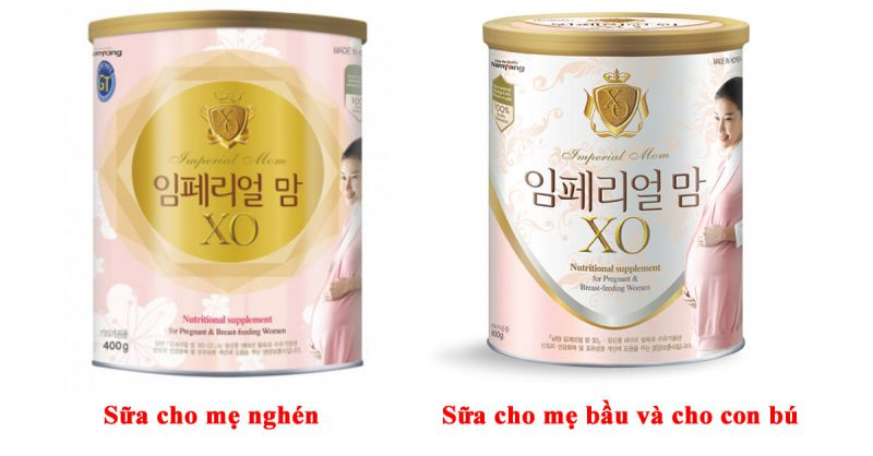 Sữa XO Mom Hàn Quốc