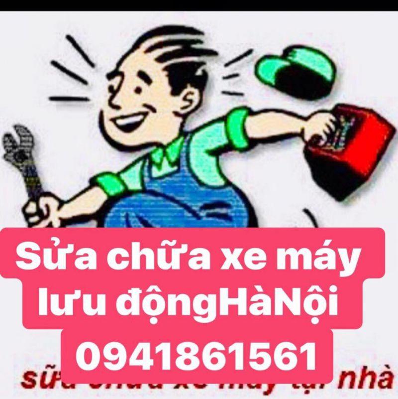Sửa chữa xe máy lưu động Hà Nội 24h 0941861561