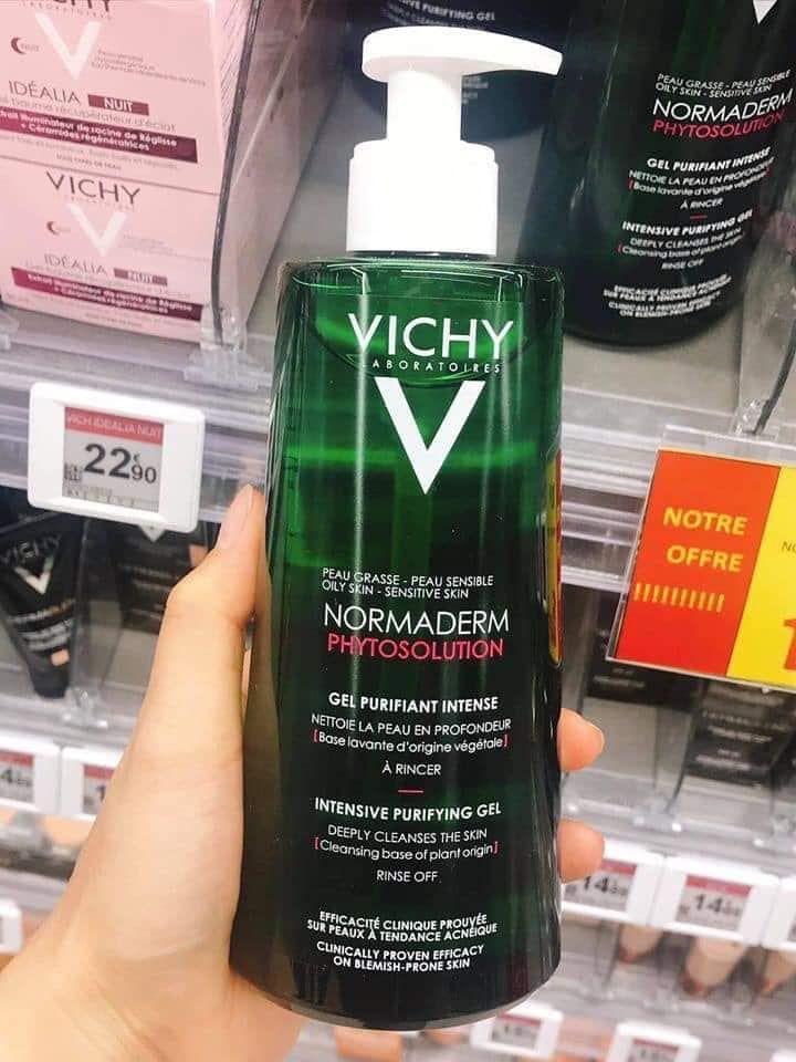 Sữa rửa mặt Vichy Normaderm 400ml