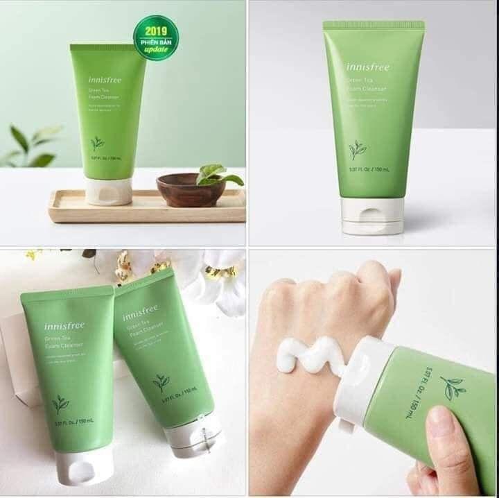 Sữa rửa mặt trà xanh Innisfree Green Tea Foam Cleanser