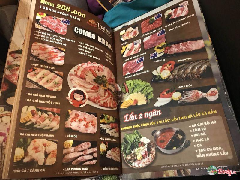 Thái BBQ Buffet - Món Nướng & Lẩu Thái Lan
