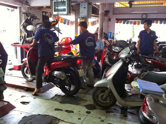 Trung tâm sửa chữa xe máy Công Tuấn