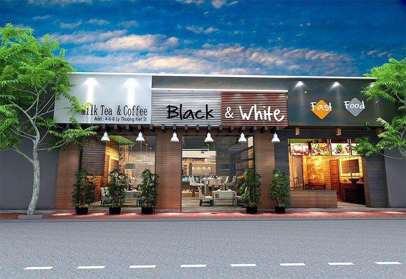 Black & White Cofffee