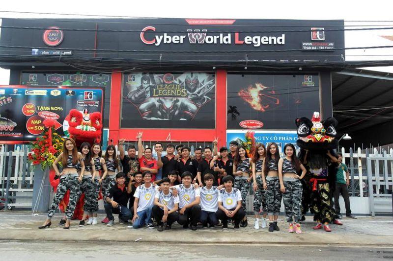 Cyber World Legend CN Tân Bình