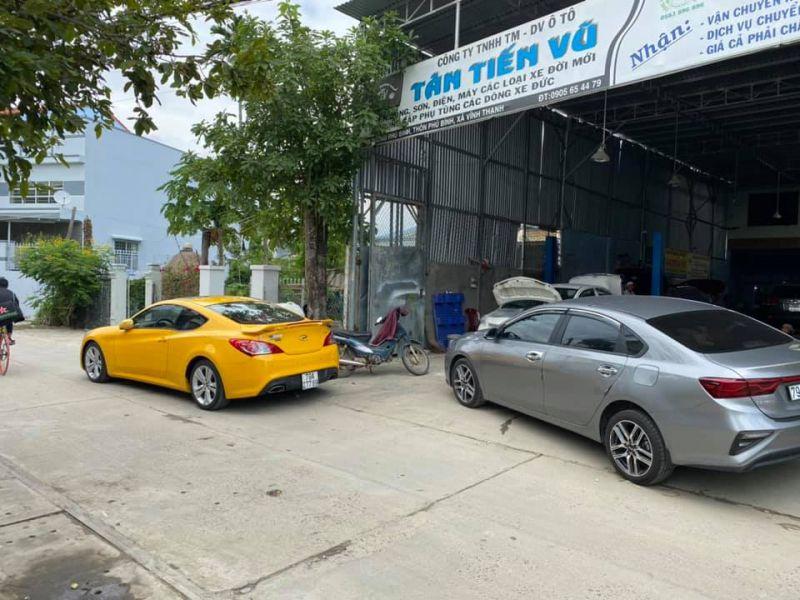 Garage Tân Tiến Vũ