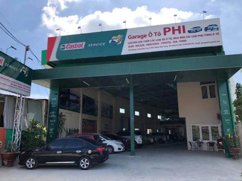Garage ô tô Phi
