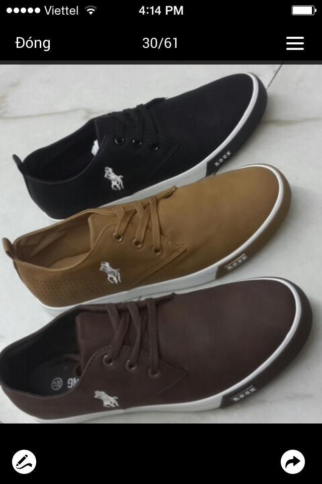 Giày dép A-ngọ