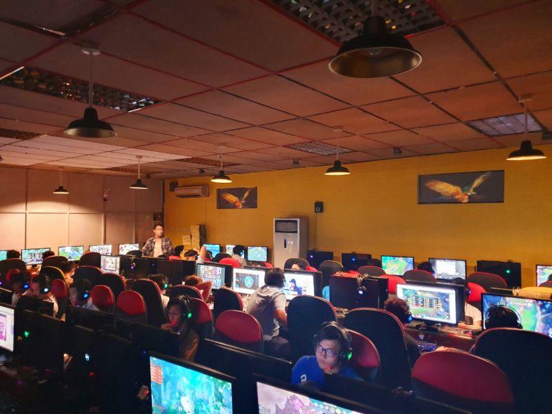 Hệ Thống Phòng Game Cyber World Legend