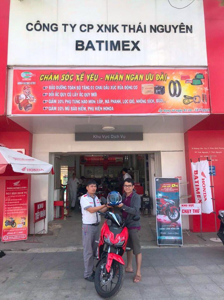 Honda Xuất nhập khẩu Thái Nguyên-Head Batimex