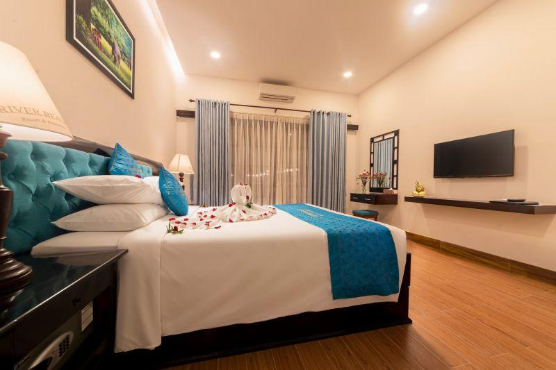 Khách sạn gần biển Cửa Đại – River Beach Resort