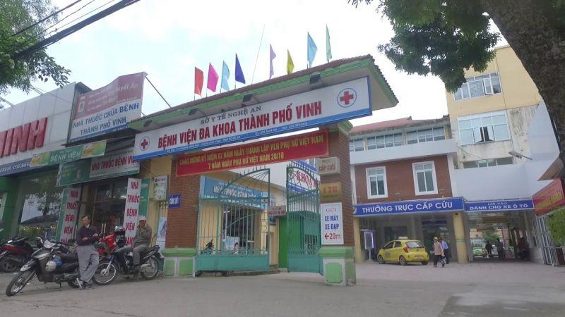 Khoa mắt - Bệnh viện đa khoa TP Vinh