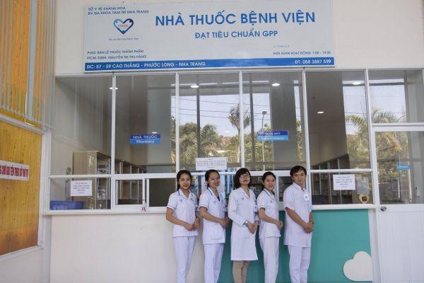 Khoa mắt bệnh viện đa khoa tâm trí Nha Trang