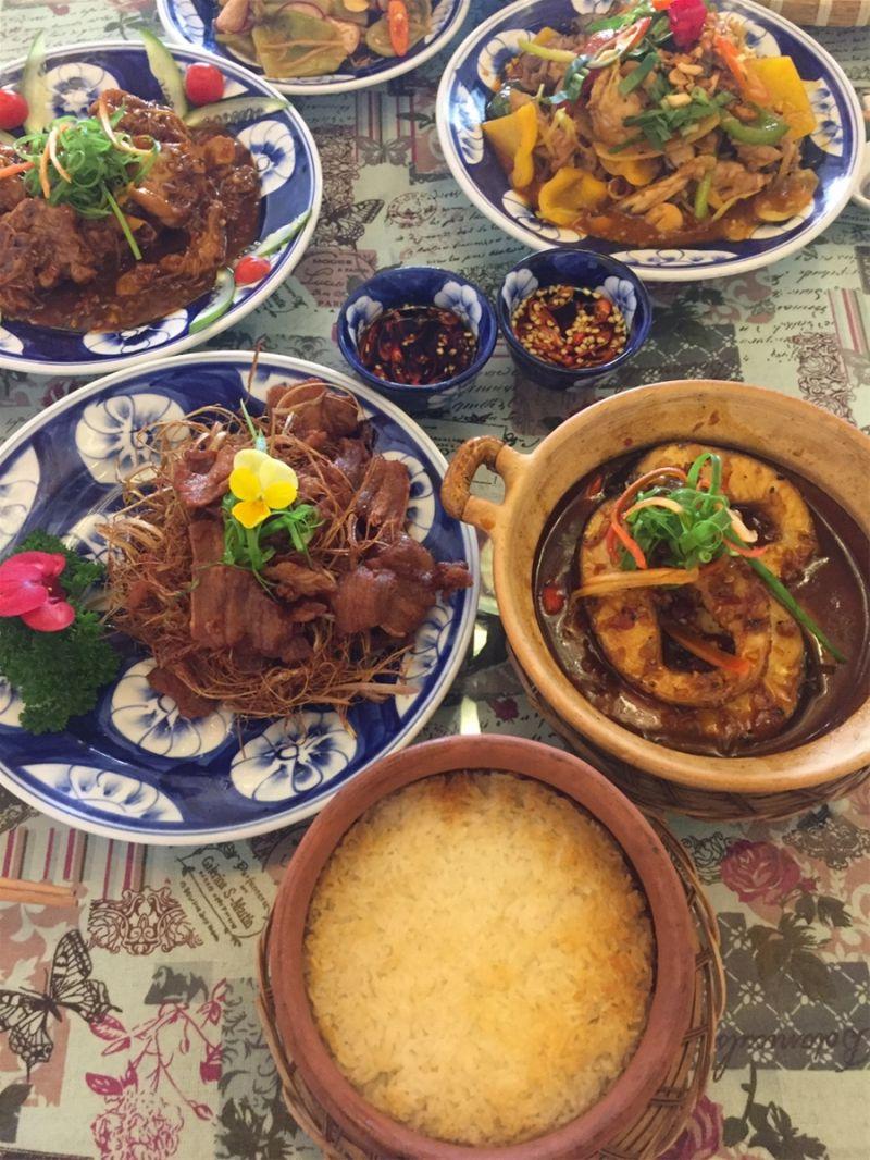 Kim Gia- Cơm niêu&  gà nướng cơm lam