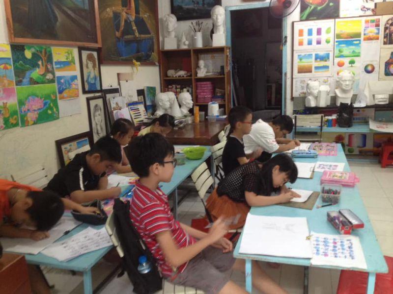 Lớp dạy vẽ Bà Rịa Vũng Tàu (Vungtaufineart)