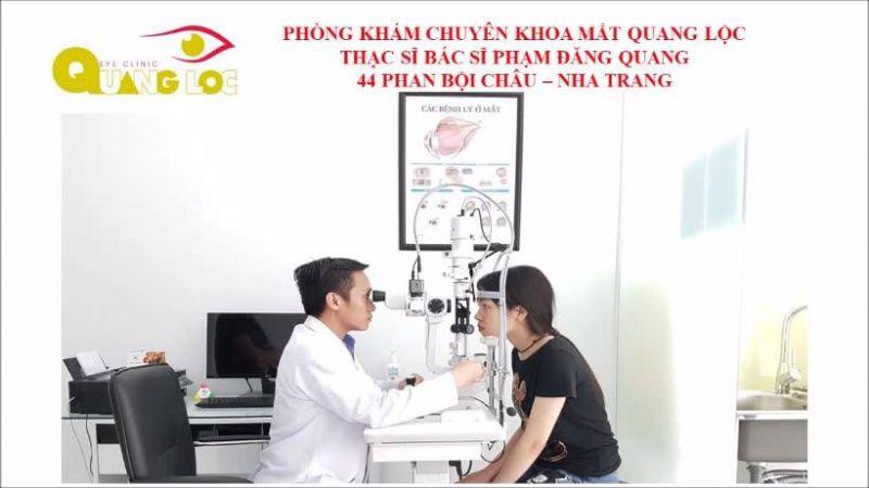 Phòng Khám Chuyên Khoa Mắt Quang Lộc - Nha Trang