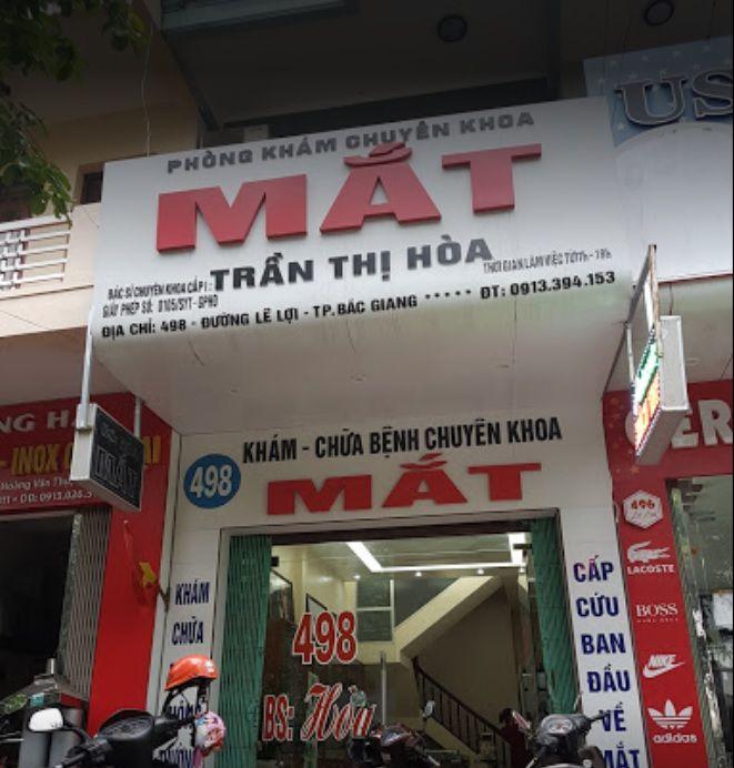 Phòng Khám Chuyên Khoa Mắt Trần Thị Hoà