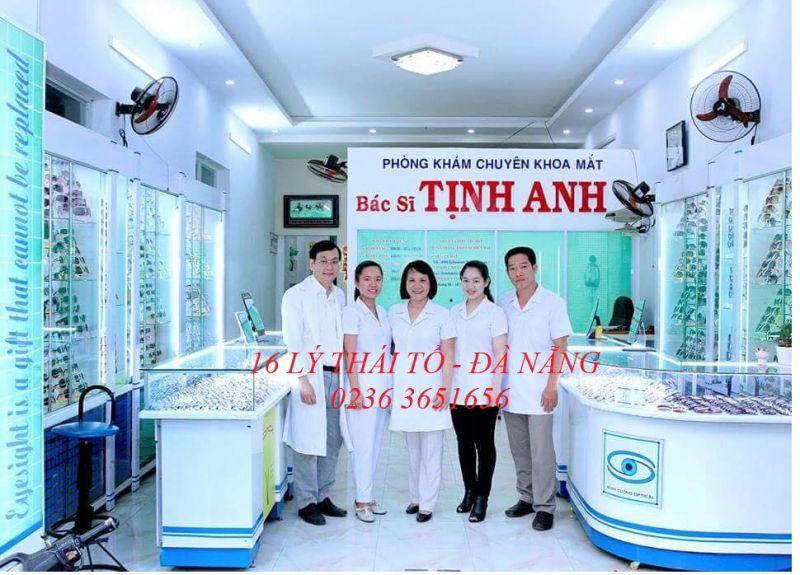 Phòng Khám Mắt - Bác Sĩ Tịnh Anh