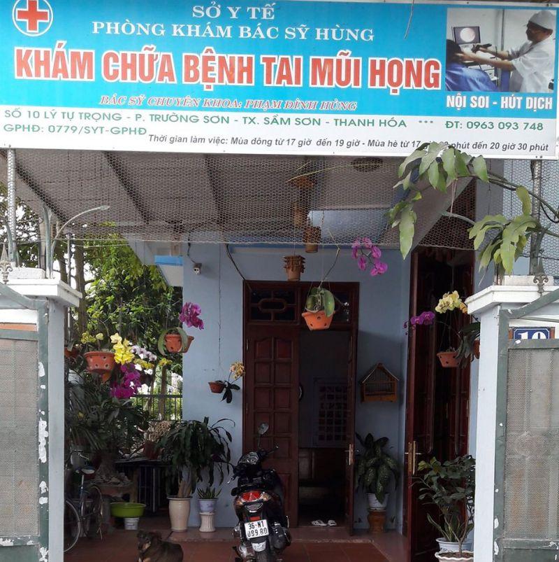 Phòng Khám Tai Mũi Họng Bác Sĩ Hùng - Sầm Sơn