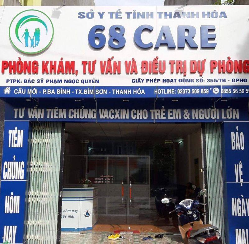 Phòng Tiêm Chủng 68 Care