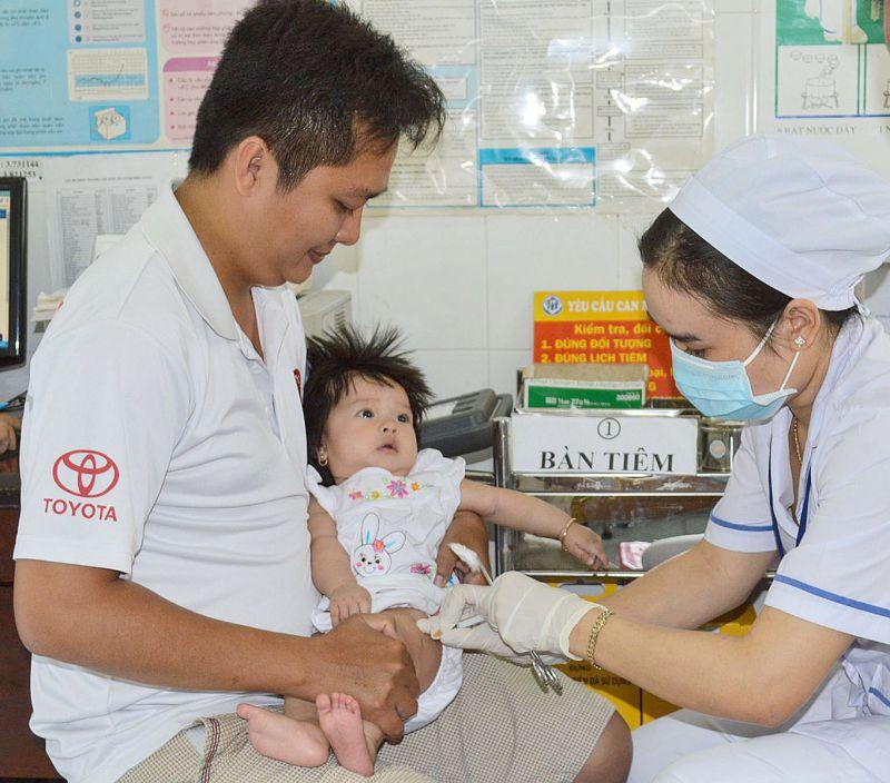 Phòng Tiêm chủng Bệnh viện Nhi đồng Cần Thơ